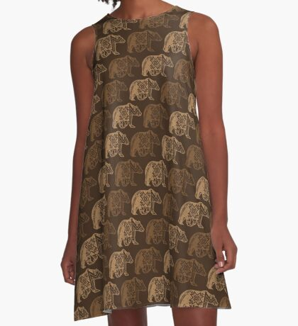 Bear Spirit A-Line Dress