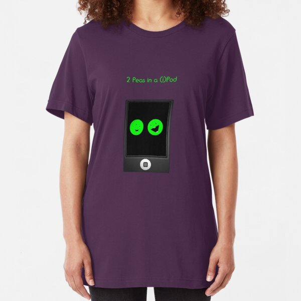 2 Peas in a Pod Slim Fit T-Shirt