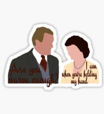 DA: Cobert + quote Sticker