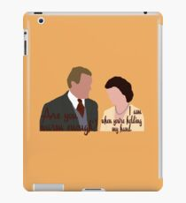 DA: Cobert + quote iPad Case/Skin