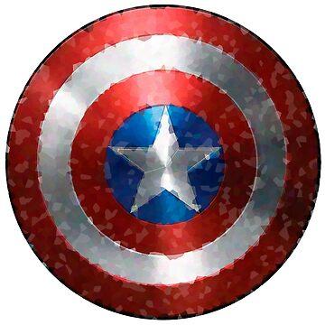 American Captain shield by alexandersuen