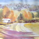 Autumn Shadows- Dorrigo Plateau by Estelle O'Brien