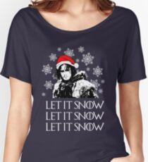 Let it snow - Christmas  Women's Relaxed Fit T-Shirt