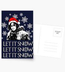 Let it snow - Christmas  Postcards