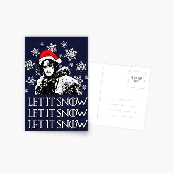 Let it snow - Christmas  Postcard