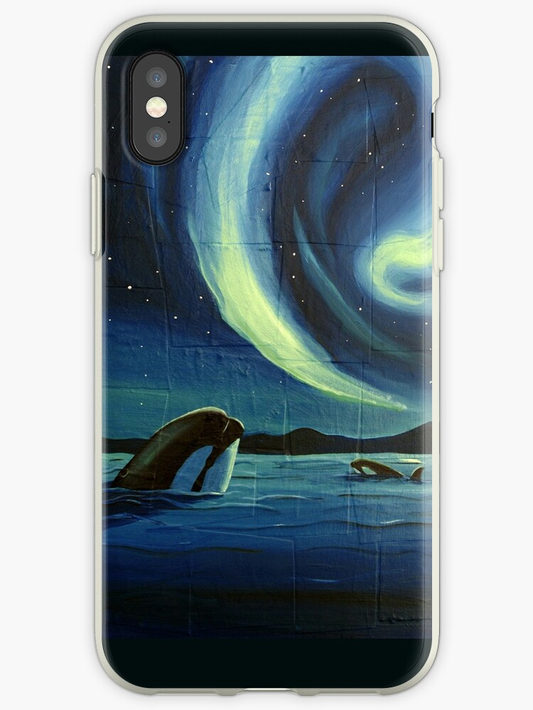 iphone xs whale phone case