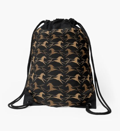 Horse Nation Drawstring Bag