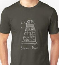 Salvador Dalek - pale grey print for dark t-shirts Unisex T-Shirt