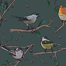 bird pattern by Wieskunde