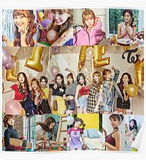 Twicegram twice once begin likey Poster