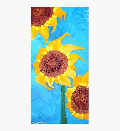 Sunflowers IV Photographic Print