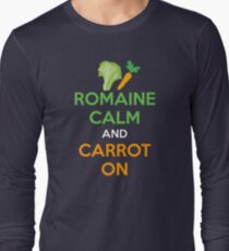 Romaine Calm And Carrot On Long Sleeve T-Shirt