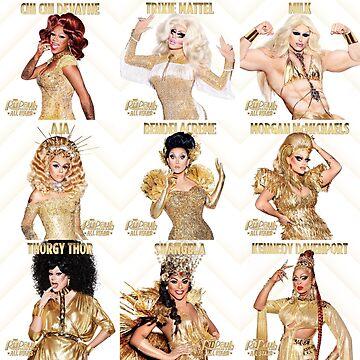 Rupauls Drag Race All Stars 3 Cast  by memekween