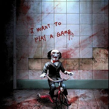 Jigsaw Want To Play A Game by cattrow
