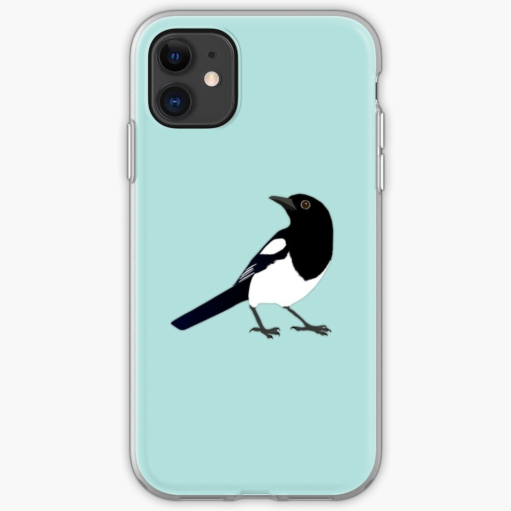 Magpie Birds iPhone 11 case