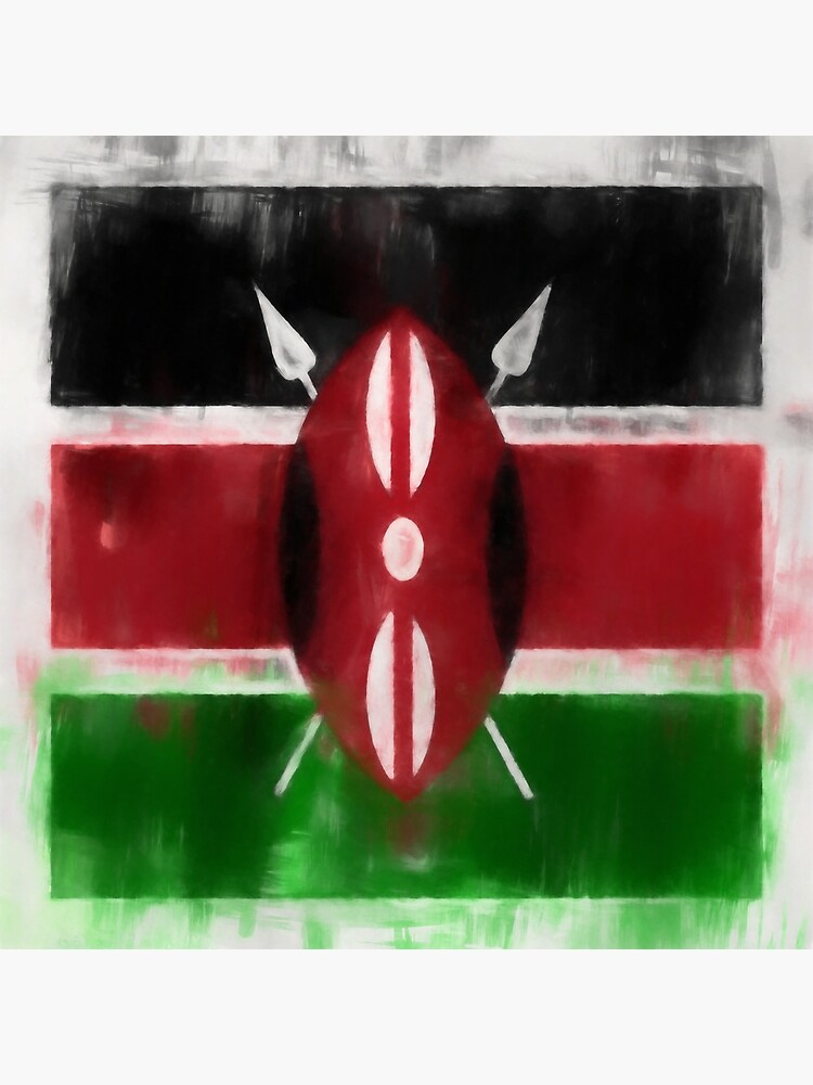 Kenyan Flag No. 2, Series 1 by 8th-and-f