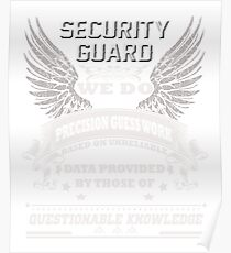 Security Guard Poster