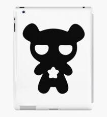 Lazy Bear B&W iPad Case/Skin