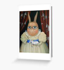 "Illusory correlation 31"" x 24"".  Original Painting - Request Price Greeting Card"