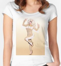 Trixie Mattel Promo Look Women's Fitted Scoop T-Shirt