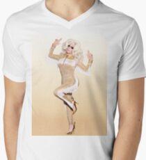 Trixie Mattel Promo Look Men's V-Neck T-Shirt