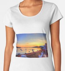Halki Sunrise Women's Premium T-Shirt