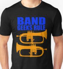 BAND GEEKS RULE-FLUGELHORN Unisex T-Shirt