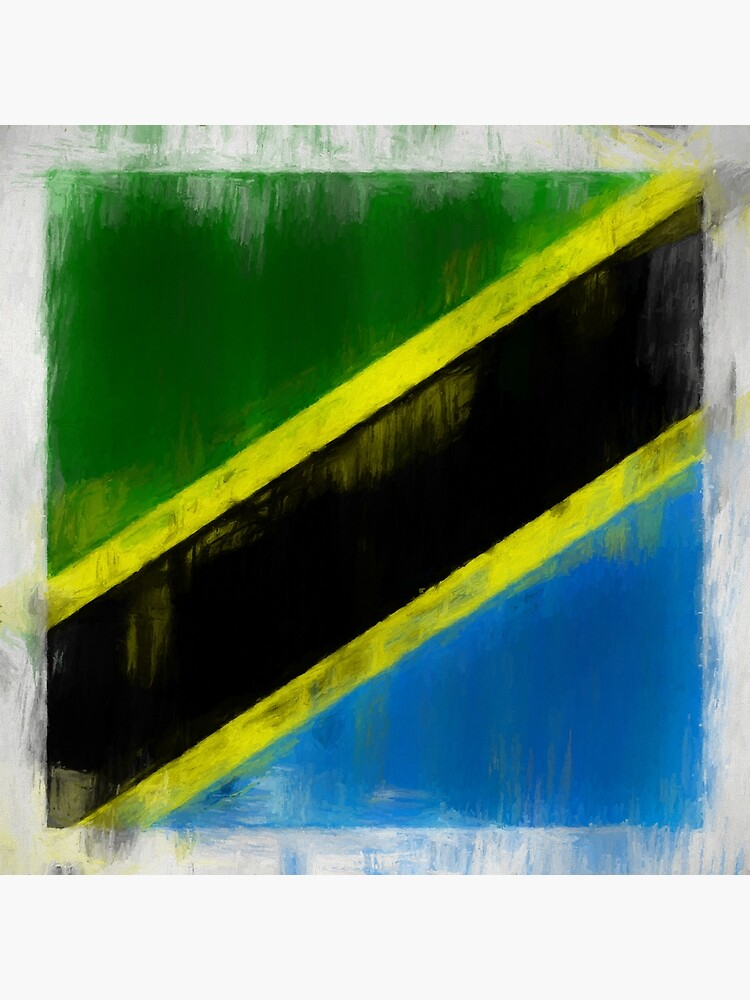 Tanzanian Flag No. 2, Series 2 by 8th-and-f