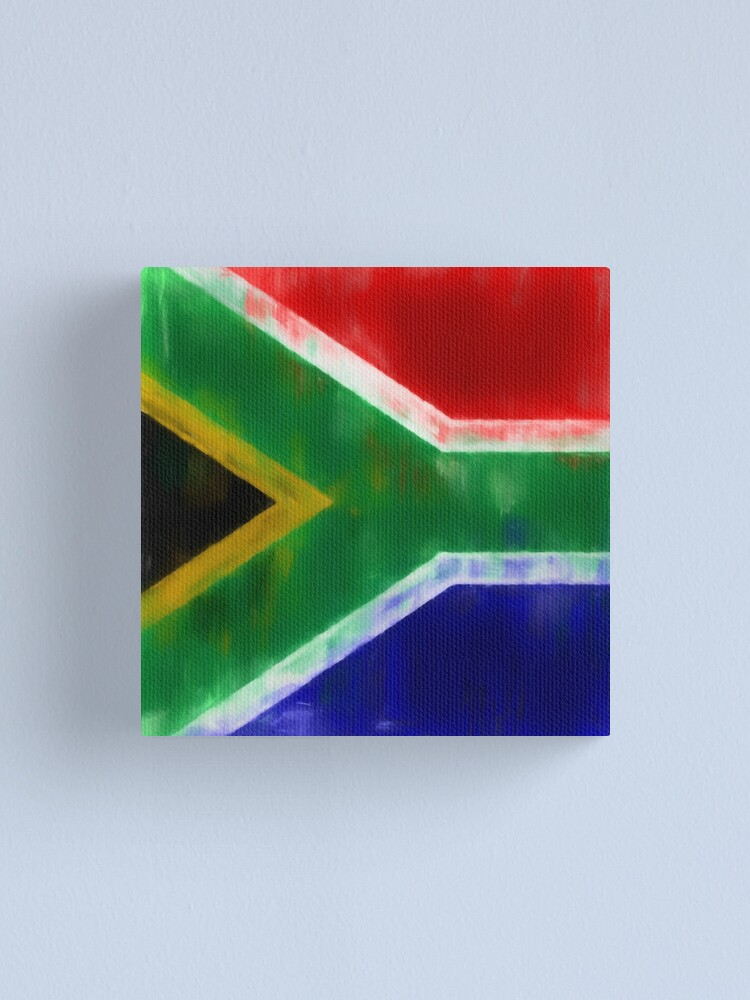 Alternate view of South African Flag No. 1, Series 1 Canvas Print