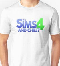 Camiseta unisex Los Sims 4 y Chill?