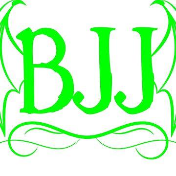 BJJ Bat Wings Brazilian Jiu-Jitsu  by telodbaico