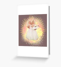 Trixie Mattel and Pearl Conjoint Sisters Greeting Card