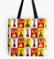 Flamenco Dancers Tote Bag
