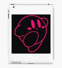 Kirby outline iPad Case/Skin