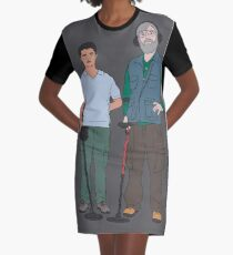 Russell & Hugh - DMDC - Detectorists Graphic T-Shirt Dress