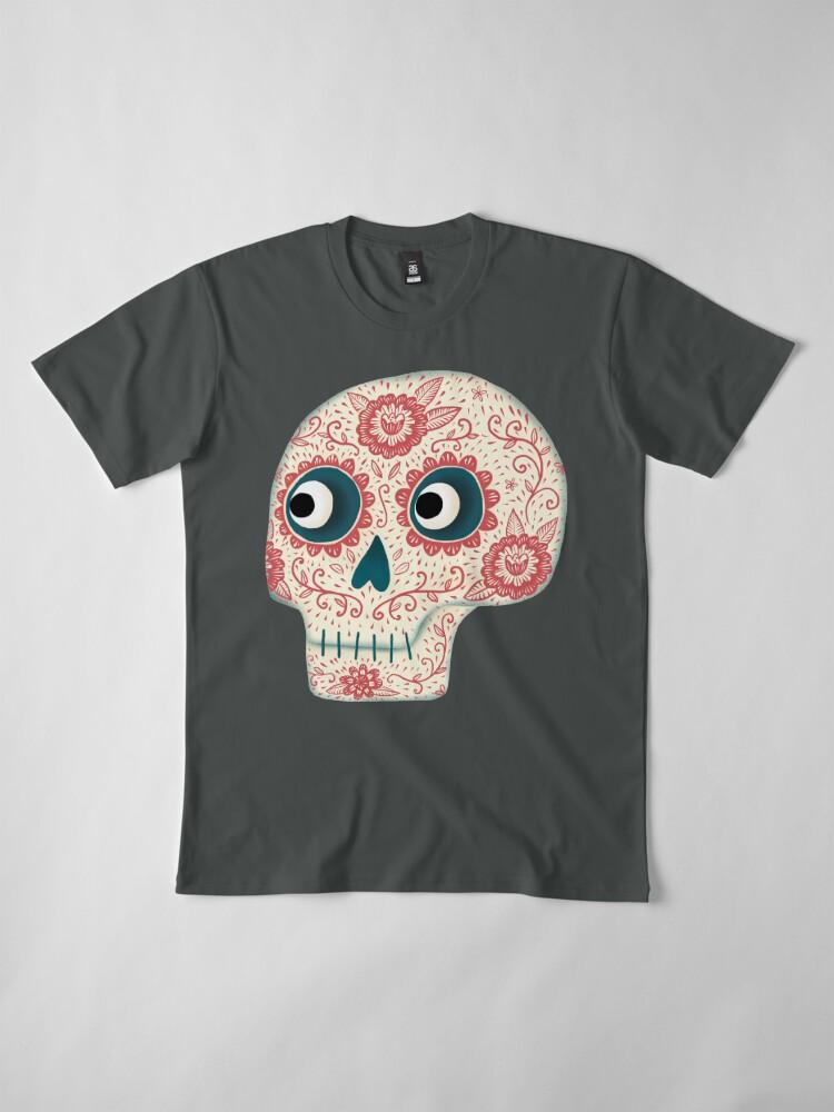 Alternative Ansicht von Mexikanischer Dia de los Muertos Tag der Toten Premium T-Shirt