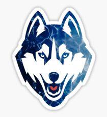UCONN Husky Sticker