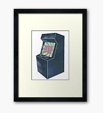 Retro Arcade Framed Print