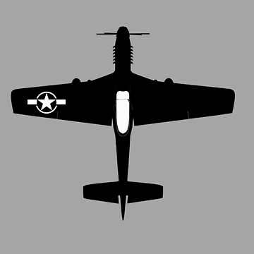 P-51D Mustang fighter  by Boxzero