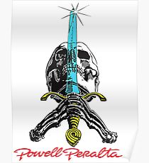 Powell Peralta Skull and Sword Poster
