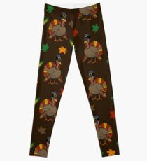 Thanksgiving Turkey pattern Leggings