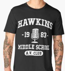Hawkins Middle School A.V. Club - Stranger Things Men's Premium T-Shirt