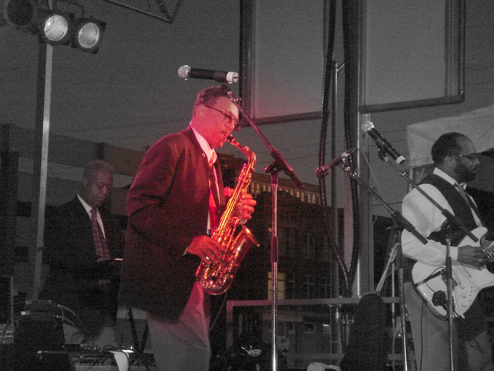 JOHNNY HOUSTON AND HIS SAX by sky2007