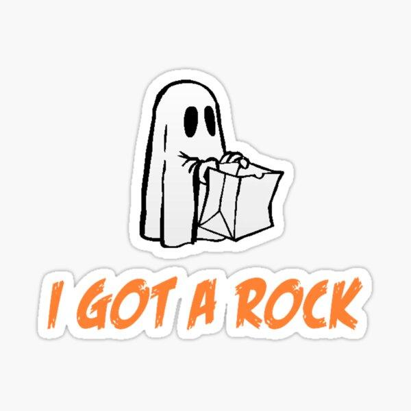 I Got A Rock - It's The Great Pumpkin, Charlie Brown Sticker