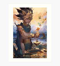 Yu-Gi-Oh! Art Print