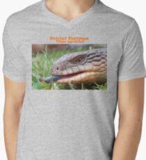 Tas Bluetongue T-Shirt Men's V-Neck T-Shirt