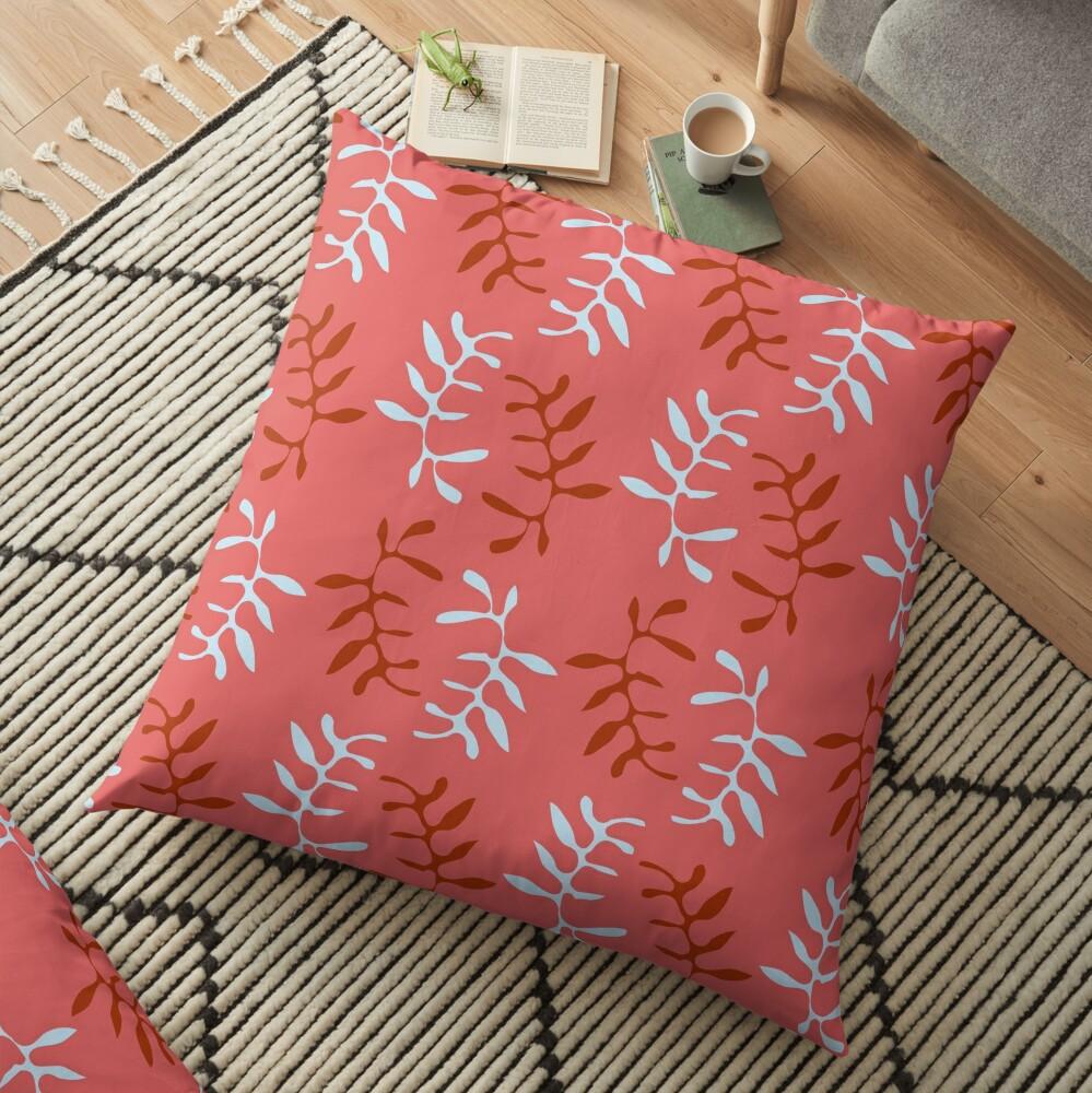 FALL SUMAC Floor Pillow