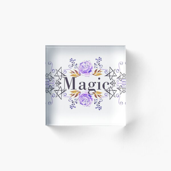 Magic Acrylic Block