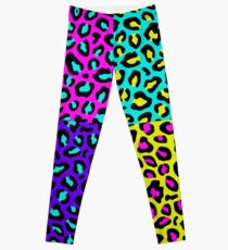 Leopard 80s Leggings