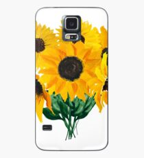 Painted sunflower bouquet Case/Skin for Samsung Galaxy